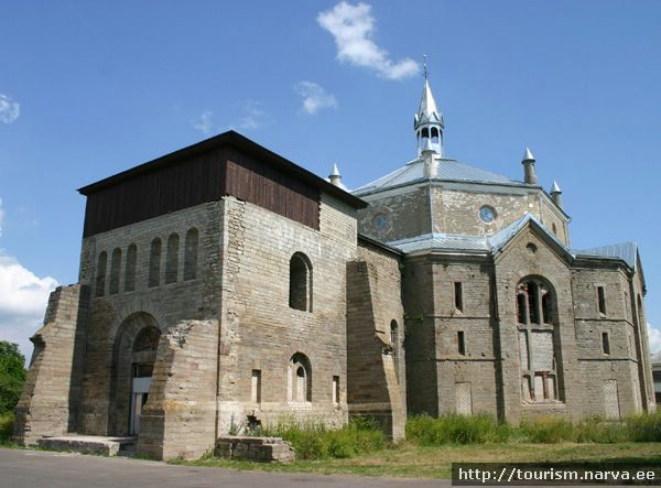 Tourist Attractions Sightseeing Alexanders Lutheran Church in Narva